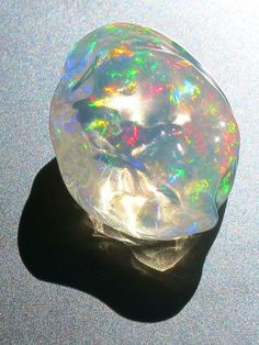 Crystal Ice - Mexican Fire Opal Jewelry