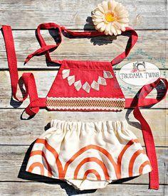 Baby Moana Costume Baby Moana Birthday Moana Outfit Toddler