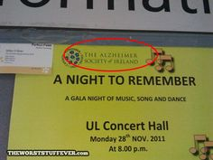 The Worst Concert Event Name Ever
