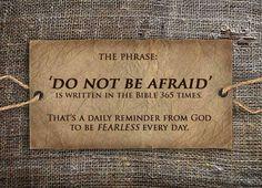Do not be afraid- facebook