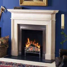 Image result for english wood and stone fireplace surround