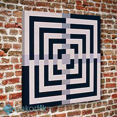 Geometrik Kare Tablo #geometrik_tablolar #geometrik_kanvas_tablolar