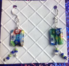 Handmade earrings Using up my stash