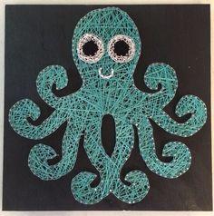 12x12 Octopus String Art