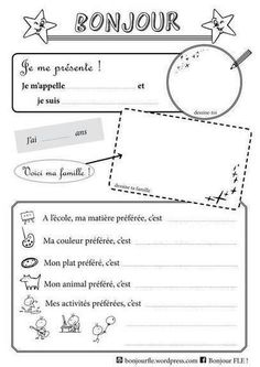 Bonjour ! | Ressources visuelles de FLE | Scoop.it
