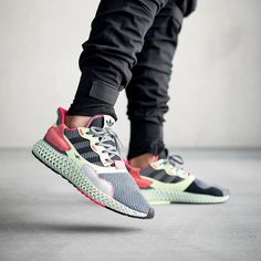 new products 2b6c1 ee80e Take a look at these new adidas ZX 4000 4D models. Both iterations use
