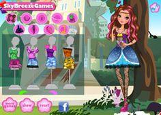 VestirEverAfterHigh.com - Juego: Vestuario Fashion Briar Beauty - Jugar Juegos Gratis Online