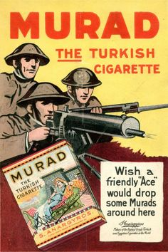 Stanford Research into the Impact of Tobacco Advertising Advertising Ads, Vintage Advertisements, Vintage Ads, Vintage Cigarette Ads, Barber Shop Decor, Retro Ads, Old Ads, World War I, Print Ads