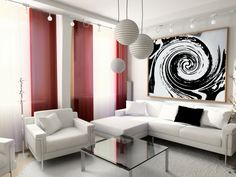 decoracion cortinas salones
