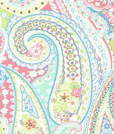 P. Kaufmann Sugar Baby Splash Fabric   Girl nursery, kids room