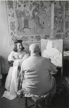 Matisse in his Studio, Venice, 1944