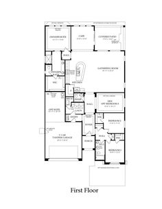 Pulte Homes Emerald Floor Plan via www.nmhometeam.com