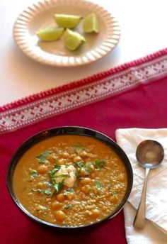 Lentil Soup with Chickpeas and Quinoa {can mix this up many different ways}