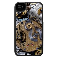 Gears and Cogs with a Mechanical, engineering or steampunk theme. Metal, machinery, industrial and steampunk gift products for sale. Steampunk Pocket Watch, Steampunk Theme, Iphone 4, Personalized Gifts, Projects To Try, Cogs, Mechanical Engineering, Creative, Gears