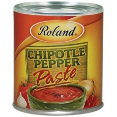 Roland Chipotle Pepper Paste, 7-Ounce Cans (Pack of 8)