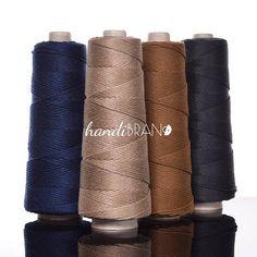 400 m silk cotton fiber blend cord 5.5 mm cord natural cord