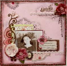 Smile **Bo Bunny Fast Friday** - Scrapbook.com by leanne