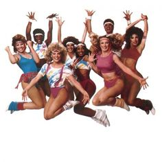 Solid Gold Dancers in the Head bands were SO in! I wanted to be one soooo bad Solid Gold Dancers, Jogging, Retro Fitness, Hip Hop, Trends, Swim Top, 80s Fashion, Weight Lifting, Leotards