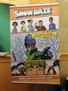 The phenomenal indie comic Snow Daze at SPX 2014!! #snowdaze #IndieComics #ComicBooks #SPX2014 #BookArts