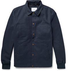 SATURDAYS NYC* Cooper Bonded Cotton Canvas Jacket