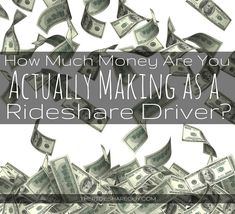 Day 4: How Much Money Are You Actually Making As a Rideshare Driver? Earn More Money, Lots Of Money, How To Make Money, Uber Business, Earn Extra Income, Business Credit Cards, Tax Deductions, On Set