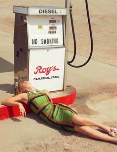 """Summer of the Dress"" by Kourtney Roy for Madame Figaro France May 2015"