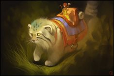 Manul cat by GaudiBuendia.deviantart.com on @DeviantArt