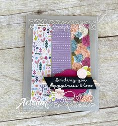 Design With Ink: It's a Needlepoint Nook Day! with Stampin' Up! Artisan Design Team Blog Hop! Gable Boxes, Tin Tiles, Ink Pads, Embossing Folder, Needle And Thread, Some Fun, Fun Projects, Needlepoint, Stampin Up