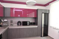 Маленькая двухкомнатная квартира в Софии с графическим дизайном стен - Дизайн…