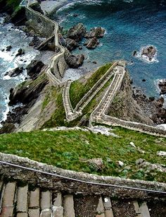 Basque Country, Spain | I missed this path in my travels in Spain. Guess I'll have to go back some day!