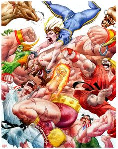 Street Fighter fan art by rogercruz.deviantart.com on @deviantART