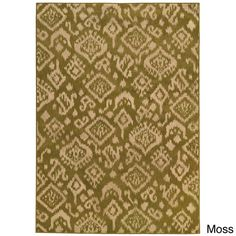 Tribal Ikat Rug (7'10 x 10') - Overstock™ Shopping - Great Deals on Style Haven 7x9 - 10x14 Rugs