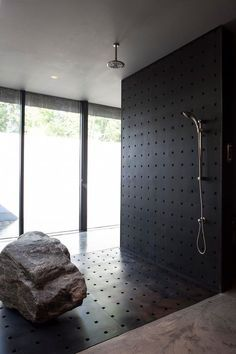 can i have a rock in my shower for the bench????
