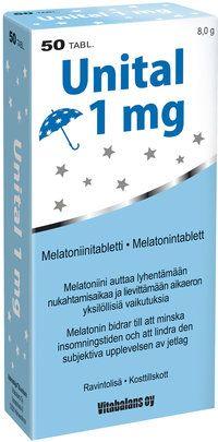 Unital - supplement - help for falling asleep - Apteekkituotteet.fi