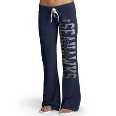 Seattle Seahawks '47 Brand Womens Pep Rally Pants - College Navy