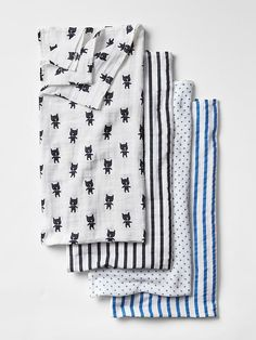 babyGap x aden + anais&#174 print swaddle blanket (4-pack) Product Image