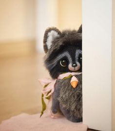 Cute Raccoon soft teddy toy