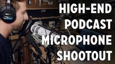Podcaster's High Quality Microphone Shootout - Heil PR40, Shure SM7B, Te...