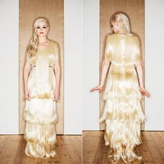 Annika Graalfs Couture full hair dress made 2015. Foto: Marcus Zumbansen
