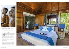Stylish and contemporary, Baan Hinyai Villa - Koh Samui, Thailand. Cocotraie Issue 11 Special Hidden Escapes.