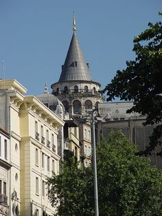 Galata Tower - view from Karakoy, Istanbul...