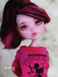 Monsterhigh Doll custom repaint | por seasungirl