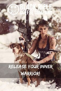 Black Rifle Coffee Company - Release your inner warrior! Be the badass we know you are! Grab your gear and get to killing it! #AmericasCoffee #BlackRifleCoffee