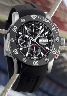 Edox | Class 1 Chronoffshore Automatic | Titanium | Watch database watchtime.com  $3,300