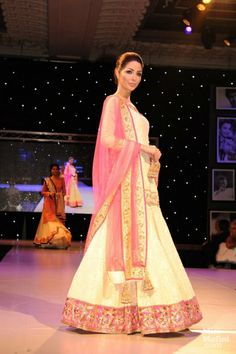 Gorgeous #Lehenga http://www.ManishMalhotra.in/landing/ Celebrated 100 Years of Bollywood in London, Oct, 2013