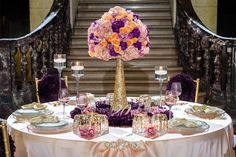 Your Wedspirational one-stop-shop for all your wedding planning needs. Plan your wedding today! Plan Your Wedding, Wedding Planning, Purple And Gold Wedding, Wedding Vendors, Flower Designs, Table Decorations, How To Plan, Accessories, Flower Line Drawings