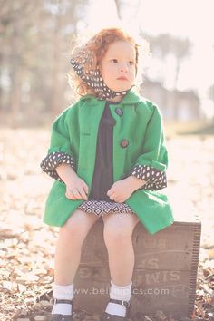 I'd love the coat, but my cuteness factor is lacking in comparison.