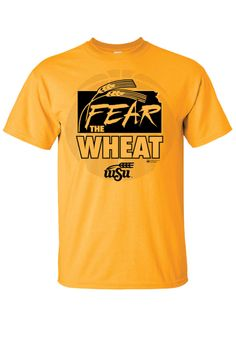 Wichita State (WSU) Shockers Gold Gear the Wheat Shirt http://www.rallyhouse.com/shop/wichita-state-shockers-8090224 $19.99