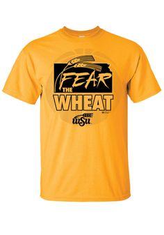 Wichita State (WSU) Shockers Gold Gear the Wheat Shirt http://www.rallyhouse.com/shop/wichita-state-shockers-8090224?utm_source=pinterest&utm_medium=social&utm_campaign=Pinterest-WSUShockers $19.99