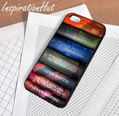 D14//Harry Potter All 7 Book  iPhone by InspirationHutCase on Etsy, $14.99